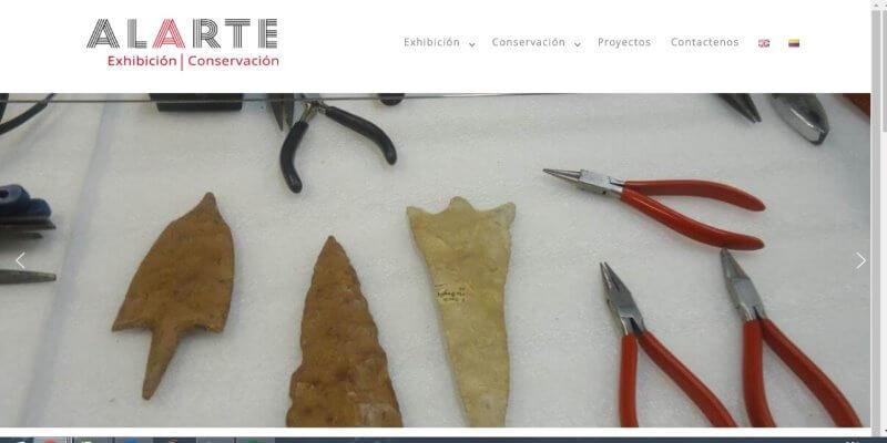 Paginas web para galerias de arte