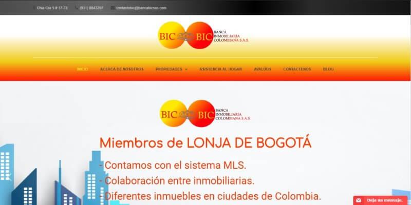 Paginas web para inmobiliarias