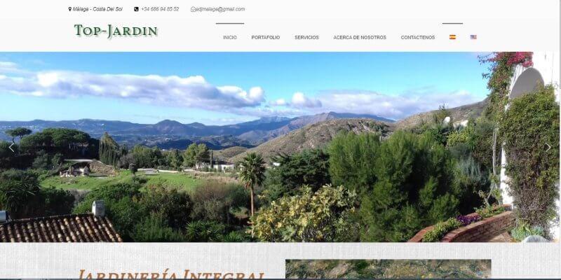 desarrollo de Paginas web para empresa malaga